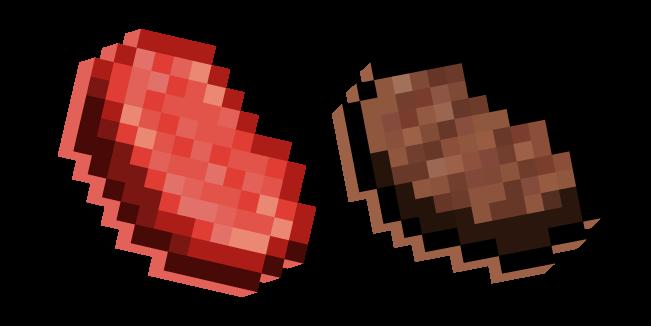 Minecraft Стейк и Сырая Говядина