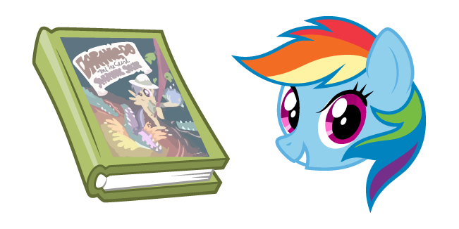 My Little Pony Rainbow Dash and Book