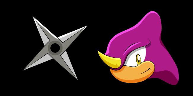 Sonic Espio the Chameleon and Shuriken