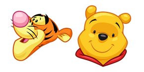 Winnie the Pooh and Tigger Curseur