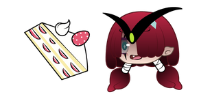 Gacha Life Muu and Strawberry Cake Cursor