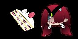 Gacha Life Muu and Strawberry Cake