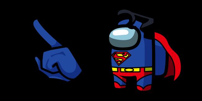 Among Us Superman Character