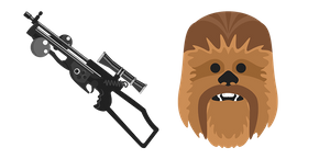 Star Wars Chewbacca Bowcaster Cursor