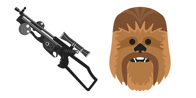 Star Wars Chewbacca Bowcaster