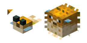 Minecraft Pufferfish Curseur