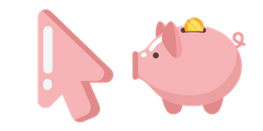 Minimal Piggy Bank Cursor