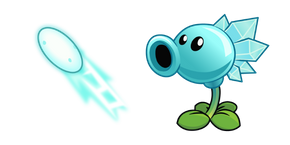 Plants vs. Zombies Snow Pea Cursor