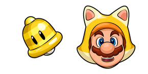 Super Mario Cat Mario and Super Bell Cursor