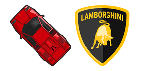 Курсор Lamborghini Countach