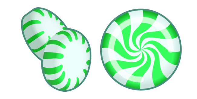 Green Peppermint Candy