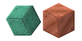 Minecraft Block of Copper Cursor