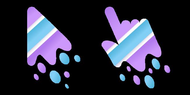 Пятно Краски Custom Cursor Логотип