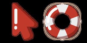 Minimal Lifebuoy Cursor
