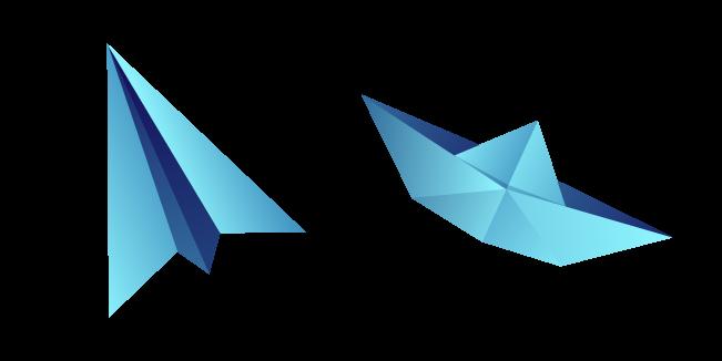 Оригами Самолет и Лодка