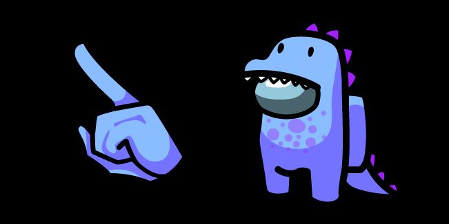 Among Us Dino Character