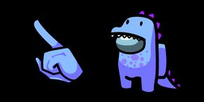 Among Us Dino Character Cursor
