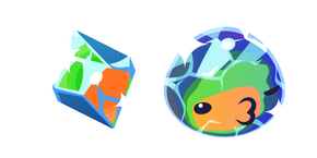 Slime Rancher Mosaic Slime and Plort Cursor