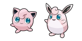 Pokemon Jigglypuff and Wigglytuff Cursor