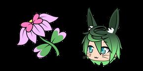 Gacha Life Qing and Pink Lily Curseur