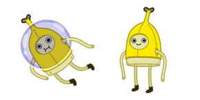 Adventure Time Banana Man Cursor