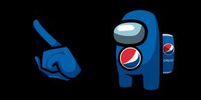 Among Us Pepsi Character Cursor