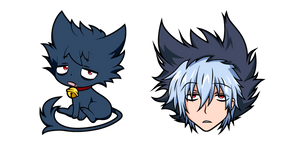 Servamp Sleepy Ash Cursor