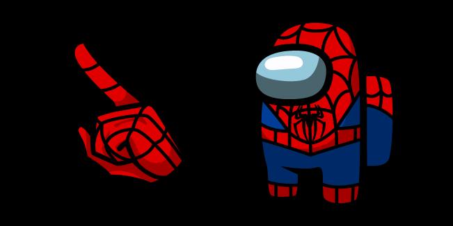 Among Us Spider-Man Character