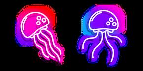 Neon Jellyfish Curseur