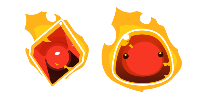 Slime Rancher Fire Slime and Plort