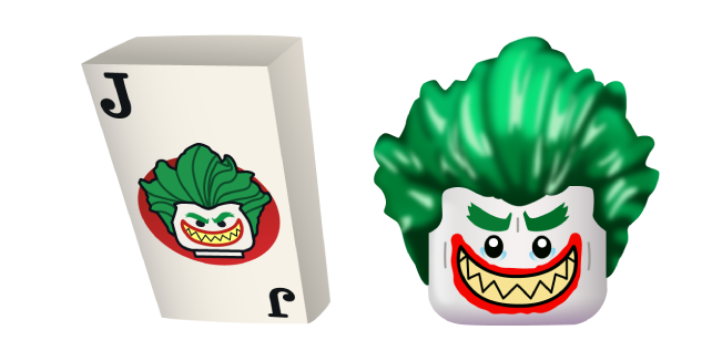 LEGO Joker and Card