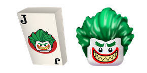 LEGO Joker and Card Cursor