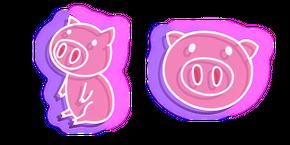 Neon Pig Cursor