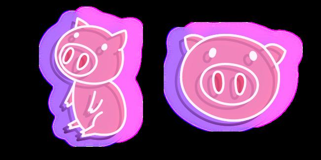 Neon Pig