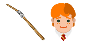 Harry Potter Ron Weasley Wand Curseur