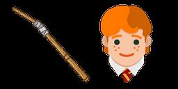 Harry Potter Ron Weasley Wand Curseur