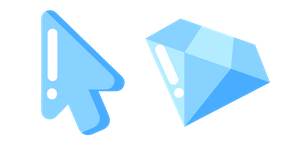 Minimal Diamond Cursor