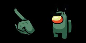 Among Us Plankton Character Cursor