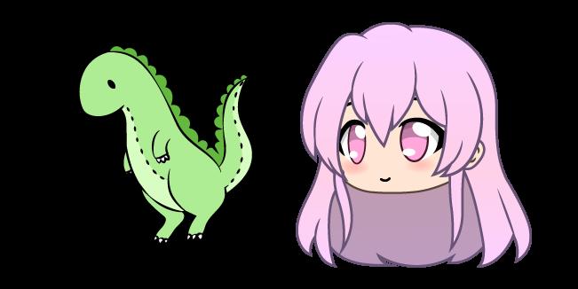 Gacha Life Mumble and Dino Doll