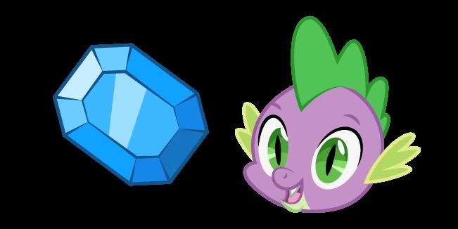 My Little Pony Спайк и Драгоценный Камень