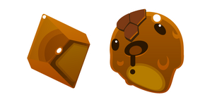 Slime Rancher Honey Slime and Plort Cursor