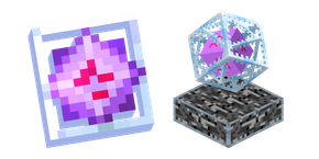 Minecraft End Crystal Cursor