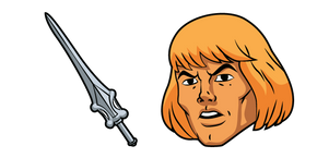 He-Man and Power Sword Cursor