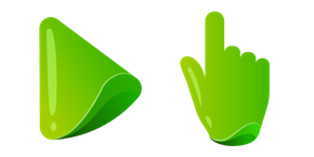 Green Color Cursor