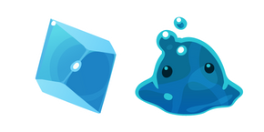 Slime Rancher Puddle Slime and Plort Cursor