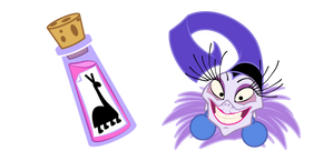 The Emperor's New Groove Yzma and Poison Cursor