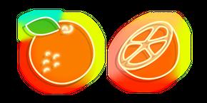 Neon Orange Curseur
