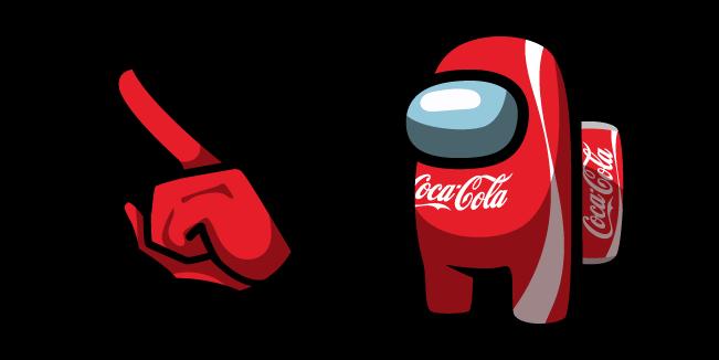 Among Us Coca-Cola Character