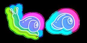 Neon Snail Curseur