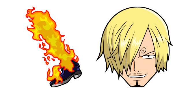 One Piece Sanji and Fire Leg
